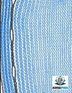 Filet échafaudage 50gm² - KINGPRO - Bleu