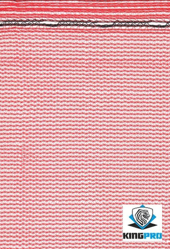 Filet échafaudage 50gm² - KINGPRO - Rouge