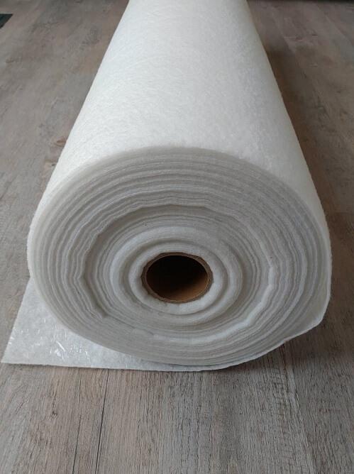 Fibre étanche KINGPRO - 1m x 50m - rouleau protection chantier travaux peinture fibre étanche