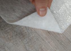 Fibre étanche KINGPRO - protection fibre avec film pe étanche travaux chantier