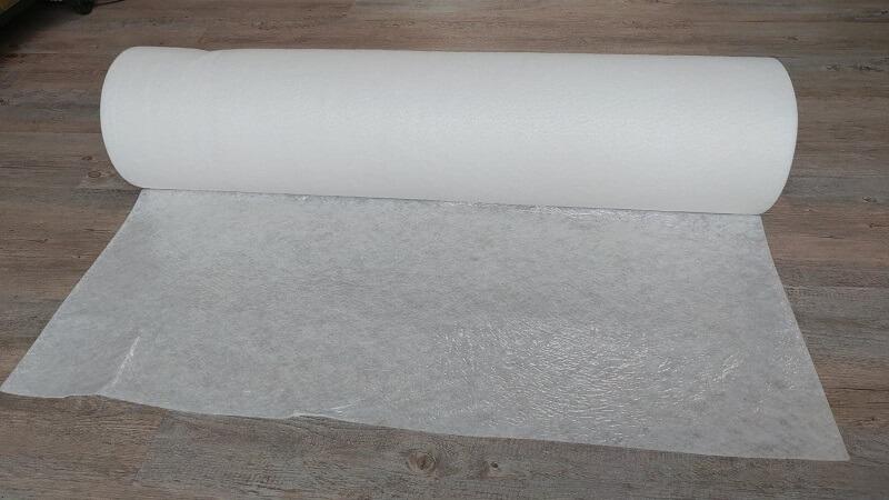 Fibre étanche KINGPRO - rouleau de protection de sols 1m x 50m - fibre étanche