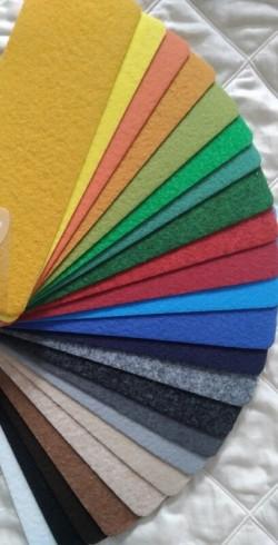 Moquettes plates pour chantier salons événementiels - tous coloris couleurs au choix