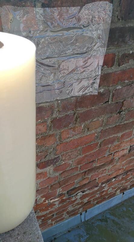 Film adhésifs KINGPRO VHT 300mm x 100m pour briques façade - protection murs briques