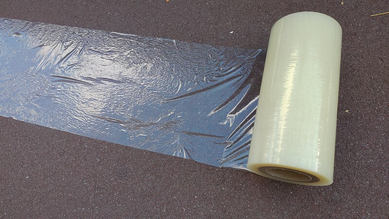 Film adhésifs KINGPRO VHT 300mm x 100m pour bitume enrobé - film adhésif pour bitume enrobé 2