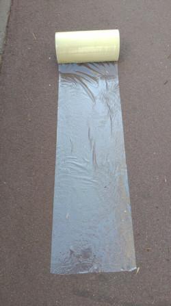 Film adhésifs KINGPRO VHT 300mm x 100m pour bitume enrobé - film adhésif pour bitume enrobé 4