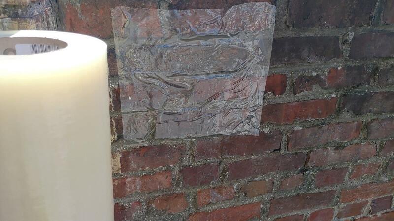 Film adhésifs KINGPRO VHT 300mm x 100m pour briques façade - film adhésif pour murs briques