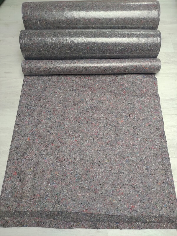 Rouleaux de feutrine étanche KINGPRO 180 300 et 500gm² KINGPRO - protection de surfaces pour travaux