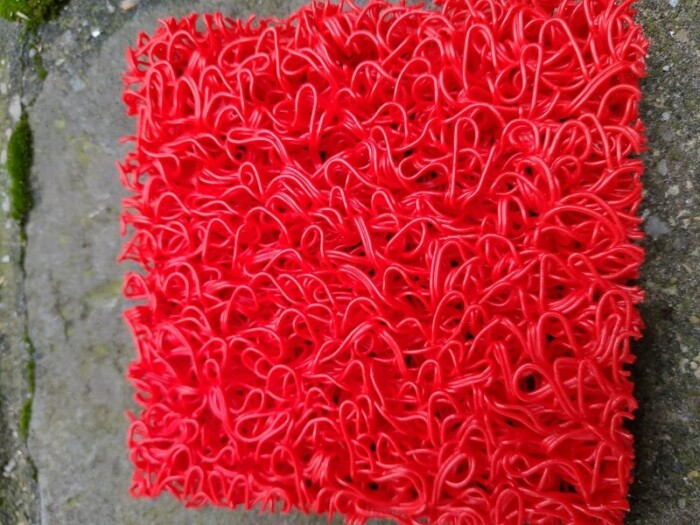 Tapis spaghetti PVC chantier KINGPRO