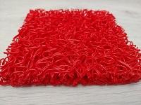 Tapis spaghetti rouge - tapis rouge de circulation chantier - tapis spaghetti de protection vos protections