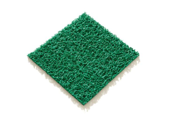 Tapis PVC spaghetti KINGPRO couleur Vert
