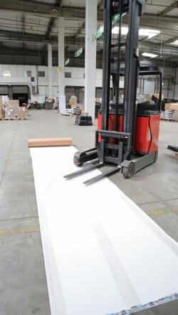 Carton plastifié de protection TETRA - carton type TETRA PAK protection sol
