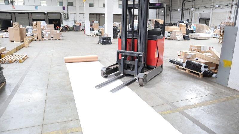 Carton plastifié de protection TETRA - chantier BTP finition peinture