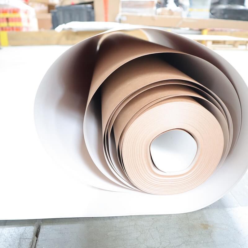 Carton plastifié de protection TETRA - large surface - protection rapide chantier