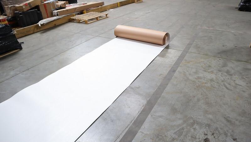 Carton plastifié de protection TETRA - rouleau plastifié protection carton sol