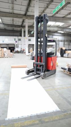 Carton plastifié de protection TETRA - rouleaux 75m² - protection sol chantier