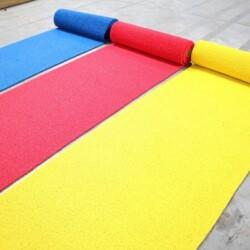 Tapis de cheminement couleur bleu rouge jaune